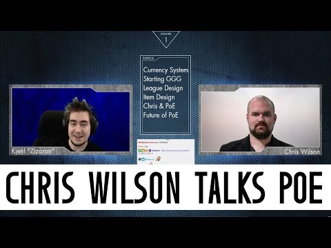 Chris Wilson interview with Zizaran Jan 13, 2018 Transcript