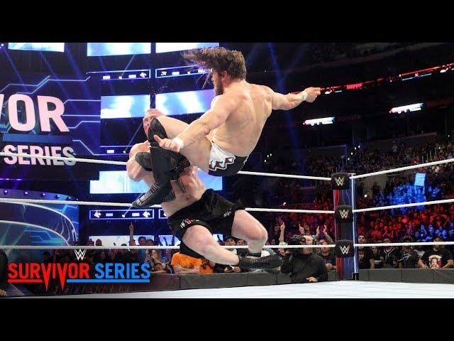 WWE Survivor Series: રિંગમાં જોવા મળ્યો બ્રૉકનો દબદબો