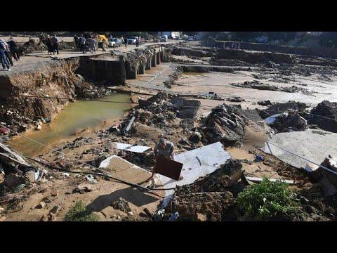 Φονικές πλημμύρες στην Τυνησία