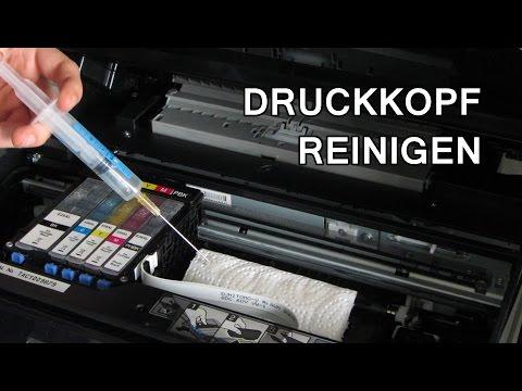 [Tutorial] Druckkopf bei Epson Drucker reinigen