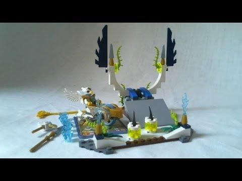 Vidéo LEGO Chima 70139 : L'envol de l'Aigle