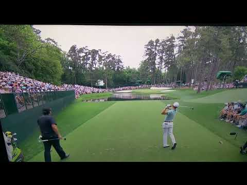 Justin Thomas hole in one 2019 Masters Augusta 16th hole
