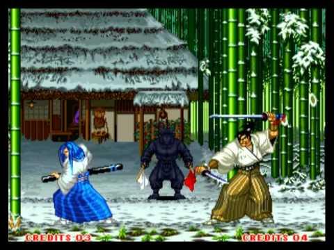 samurai shodown ii neo geo