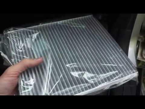 Замена фильтра салона hyundai trajet, видео инструкция
