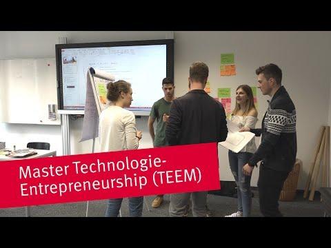 Master Technologie-Entrepreneurship