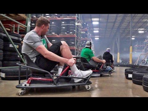 Stunt Driving Battle | Dude Perfect