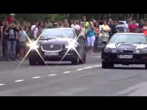 gara di velocità - jaguar xj vs toyota celica 4x4 turbo
