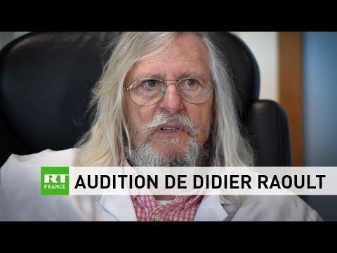 Audition de Didier Raoult par la commission d'enquête de l'Assemblée nationale