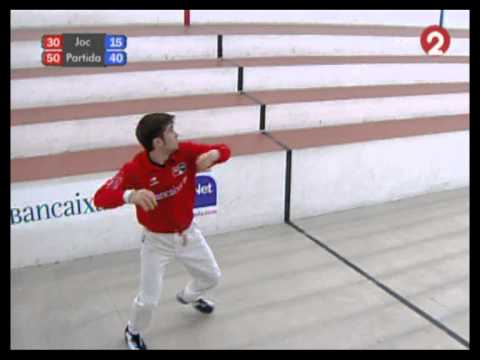 7/7. Semifinals Bancaixa 2011. Bellreguard. Pilota Valenciana