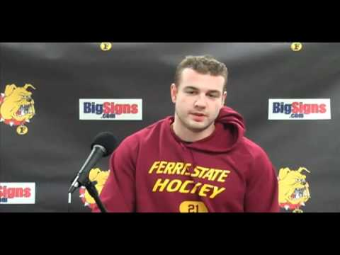 Hockey Forward Hennig Post Game 12/10/10