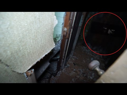 Satanic Demon In Abandoned Mansion - So Scary