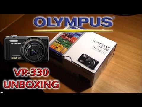 Olympus VR-330 Unboxing