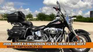 4. Used 2006 Harley Davidson FLSTC Heritage Softail Classic HD for sale in Dallas Texas