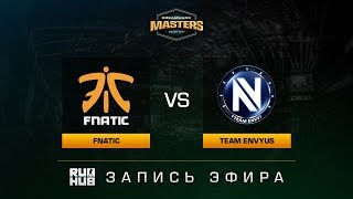 Fnatic vs Team EnVyUs - Dreamhack Malmo 2017 - de_cobblestone [sleepsomewhile, MintGod]