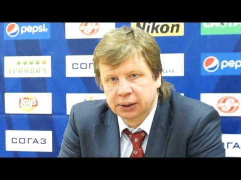 Пресс-конференция: Анатолий Емелин, Любомир Покович