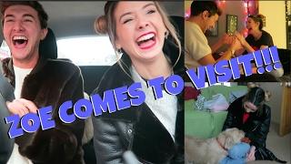 ZOE COMES TO VISIT || MARK FERRIS