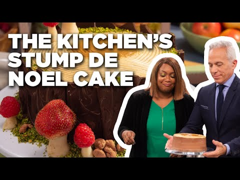 Stump De Noel Cake | The Kitchen | Food Network