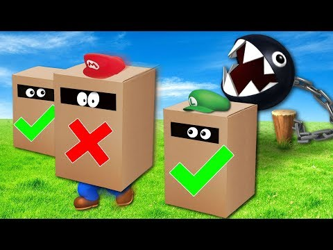 Mario Party Mini Games in Real Life!! (TEAM EDGE) (видео)