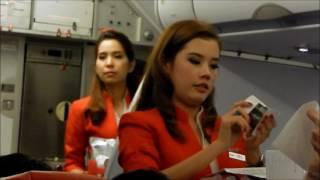 Video Air Asia Flight racing the storms from Cambodia to Bangkok MP3, 3GP, MP4, WEBM, AVI, FLV Agustus 2018