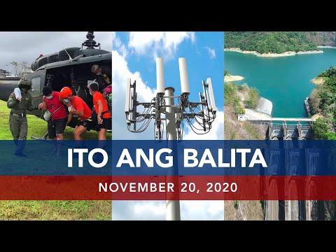 UNTV: Ito Ang Balita | November 20, 2020