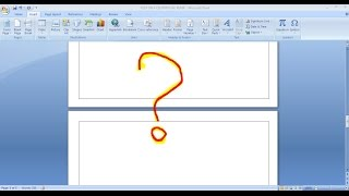 Download Video How to remove a blank page ? - Ms Word MP3 3GP MP4