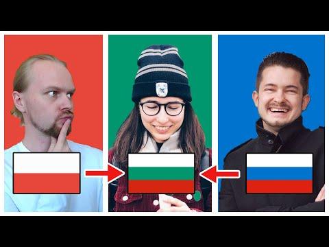 Поймут ли поляк и русский българский язык?