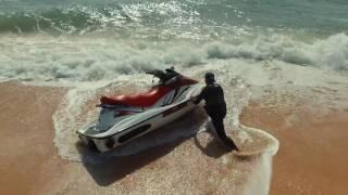 7. Seadoo GTI 130 , Jumping the waves. Filmed by Drone PHANTOM 3
