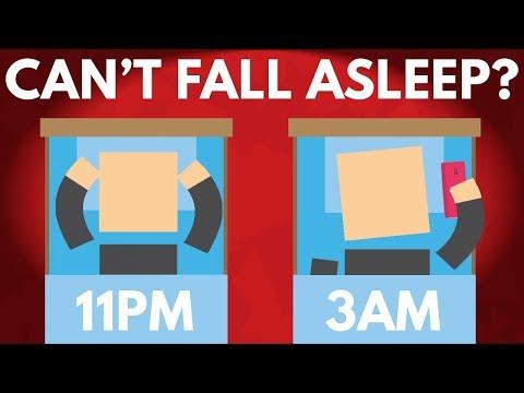 Why Is It So Hard To Fall Asleep? (видео)