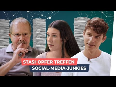 Ständig beobachtet? Stasi-Opfer treffen Facebook-User