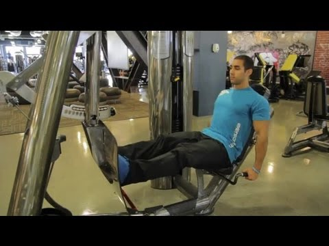 How Much Weight for Women Using a Leg Press Machine? : Muscle Toning & Strengthening