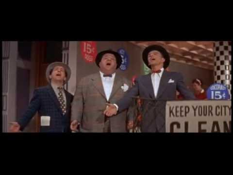"""Frank Sinatra, Stubby Kaye, and Johnny Silver - """"Guys And Dolls"""" from Guys And Dolls (1955)"""