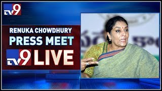 Congress leader Renuka Chowdary Press Meet LIVE