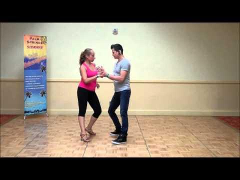 Обучение (сальса), урок соло John Narvaez & Liz Rojas