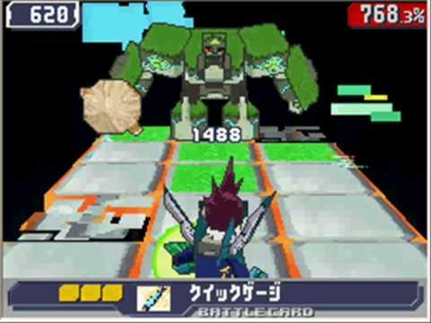 Ryuusei No Rockman 3 Black Ace: Club Stone Omega