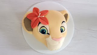 Nala Cake From The Lion King | Koalipops by POPSUGAR Food