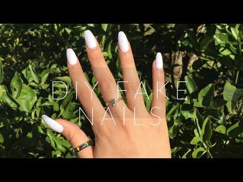 DIY FAKE NAILS Nails Under $10!   CHELSEA GOMEZ