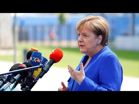 Nato-Gipfel: Merkel kontert Trump-Kritik an Deutschla ...