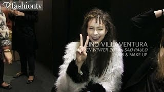 Lino Villaventura Winter 2014 Hair and Make Up | Sao Paulo Fashion Week | FashionTV