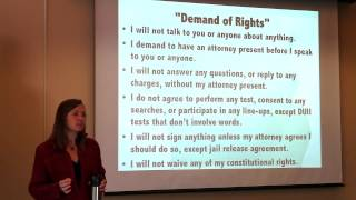 CLDC Know Your Rights Activist Training