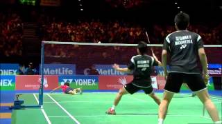 Video Badminton Highlights - Ahsan & Setiawan vs Endo & Hayakawa - All England 2014 MD Finals MP3, 3GP, MP4, WEBM, AVI, FLV Februari 2018