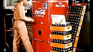 Haikarate4 on Facebook:  https://www.facebook.com/haikarate4/Vintage Store and more:  www.haikarate4.comThis Coca-Cola promotional video/commercial was geared toward business owners and plant managers.  The basic premise is that your workers will be happier and work better if they have easier access to Coke.  I love the old style Coke machines and the old school glass bottles.Jim Handy Promotional Films 1950 1951 1952 1953 1954 1955 1956 1957 1958 1959 1960Antique Coke Machine