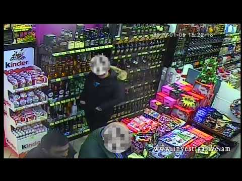 Սուպերմարկետից խմիչք է գողացել (տեսանյութ)