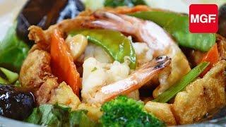 Download Lagu Langostinos salteados con verduras - Magefesa Mp3