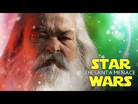 STAR WARS The Santa Menace SANTA vs JESUS