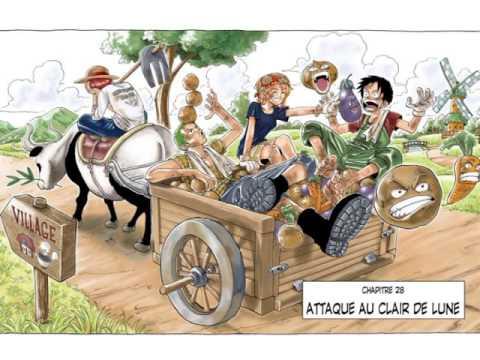 One Piece - Couverture des chapitres 1 à 50