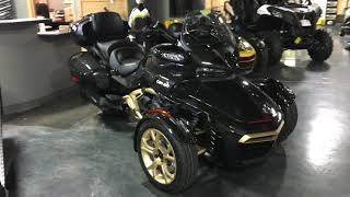 7. 2018 Can-Am Spyder F3 Limited 10th Anniversary Special Edition SE6 1330