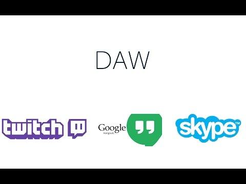 Вывод звука DAW в Twtich Google Skype Bandicam Fraps