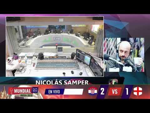 El comentario de Nicolas Samper sobre Croacia vs Inglaterra | RCN Radio