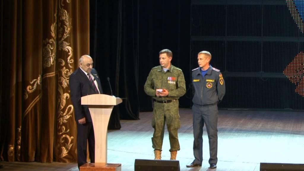 Донецк. Приезд Абхазской делегации 27.12.2014