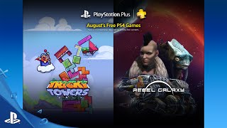 August 2016 Free PlayStation Plus Games